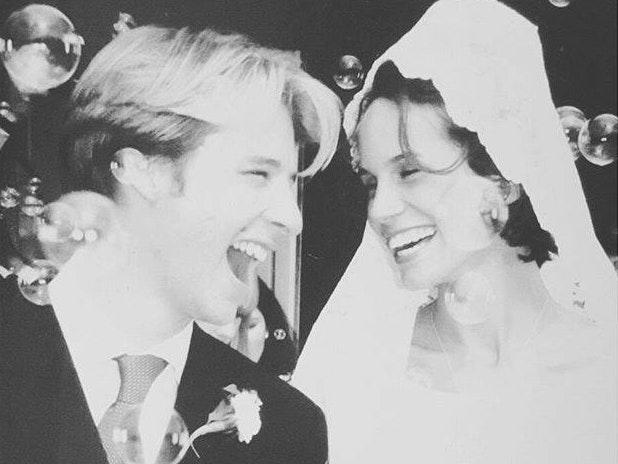 Chesney Hawkes bei seiner Hochzeit