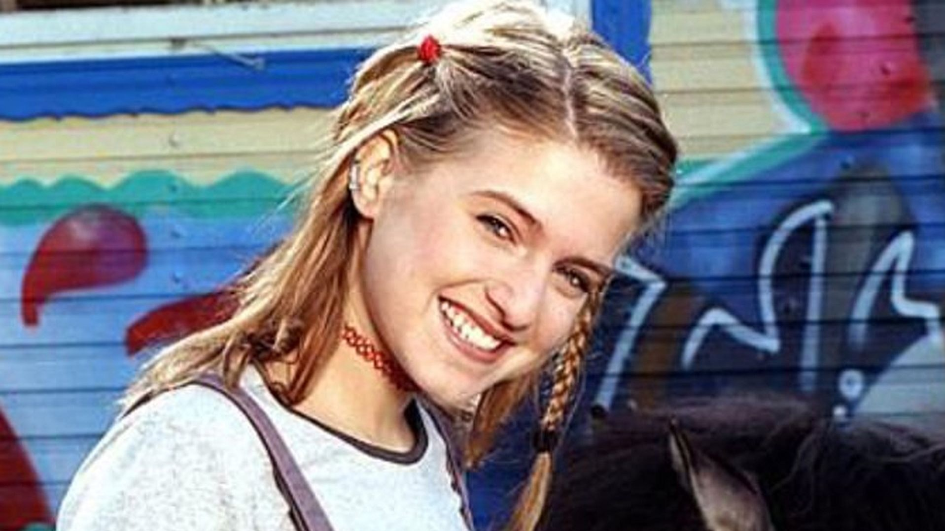 Jeanette Biedermann in den 90s