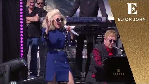 Elton John feat. Lady Gaga - Don't Let The Sun Go Down On Me (Live with Lady Gaga)